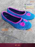 Sepatu rajut Motif biasa pakai pita grosir murah