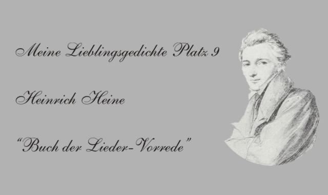 Bild Heinrich Heine-Lieblingsgedichte