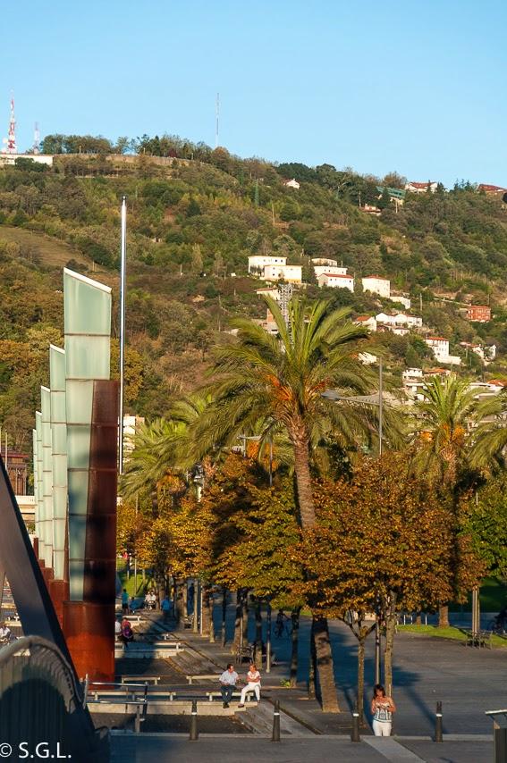 Vista de Bilbao en Otoño