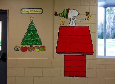 Mrs Mcscrooge And My Winter Bulletin Boards A Dash