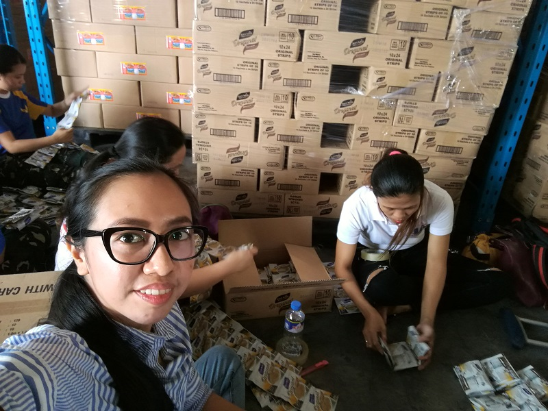 DSWD-NROC, DSWD Manila, DSWD Volunteers, typhoon nina 2016, typhoon nock-ten