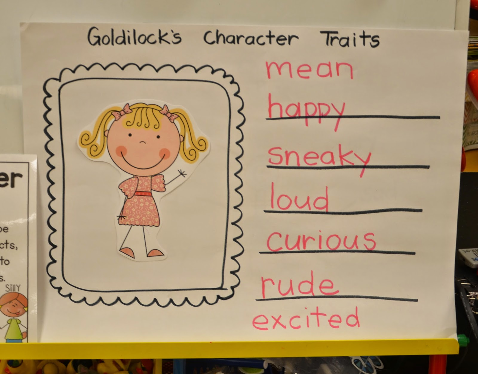 A Place Called Kindergarten Character Traits In Kindergarten