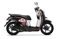 Honda Scoopy eSP Sporty hitam