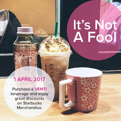 Purchase Venti Beverage Get Starbucks Merchandise Discount Promo