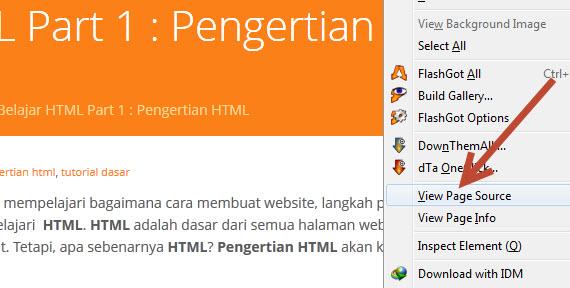 Belajar HTML Dasar Part 1: Pengertian HTML