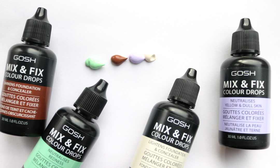 GOSH Mix & Fix Colour Drops review