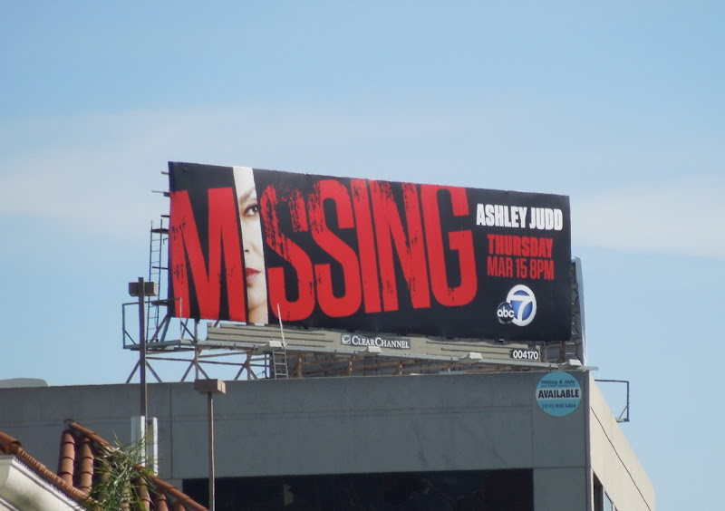 Missing TV billboard