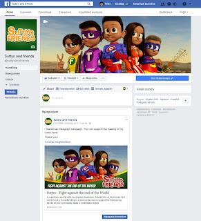 Suttyó és barátai facebook oldal
