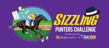 Sizzling Punters' Challenge brought to you by Hollywoodbets and tabGOLD