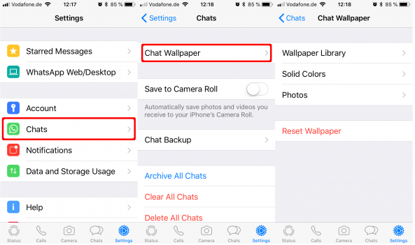 How To Change Wallpaper Of WhatsApp Chat