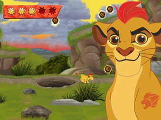 لعبة الاسد الحارس The Lion Guard