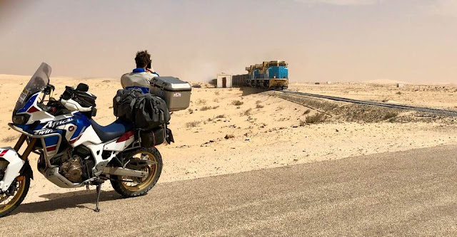 Road to Dakar con la Africa Twin.