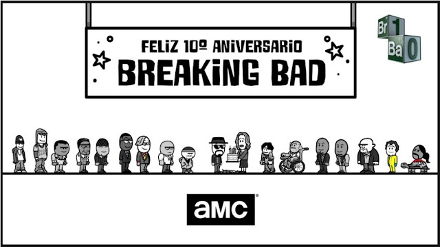 Breaking Bad aniversario 10 años (AMC)