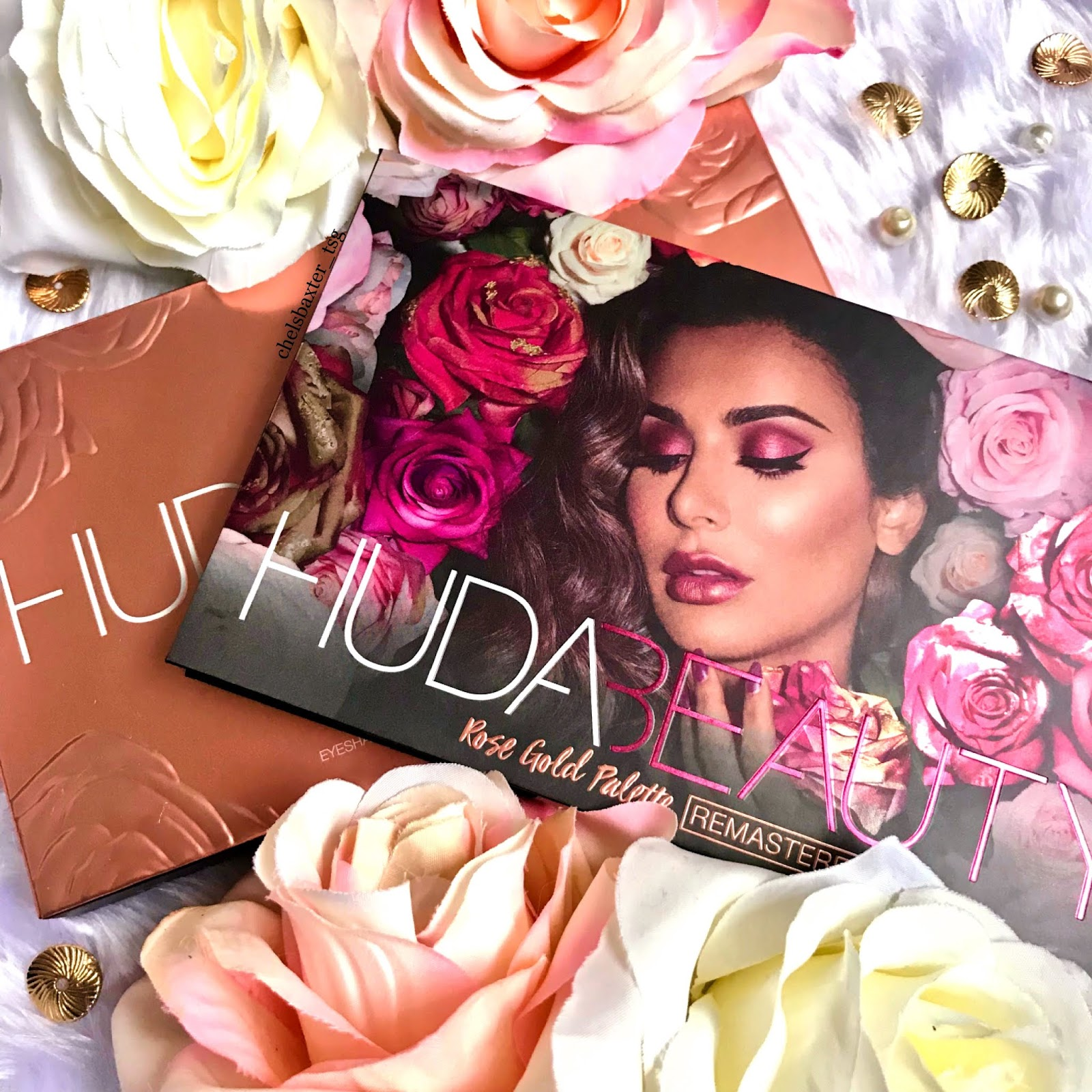 New Huda Beauty Rose Gold Remastered Review Swatches That Skint Gal