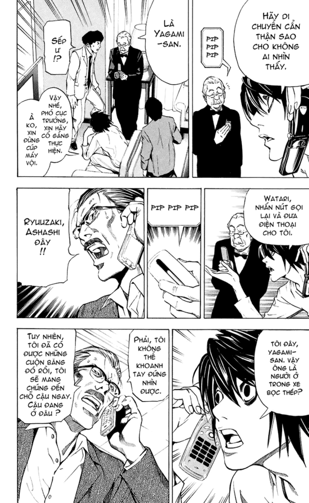 Death Note chapter 024 trang 11