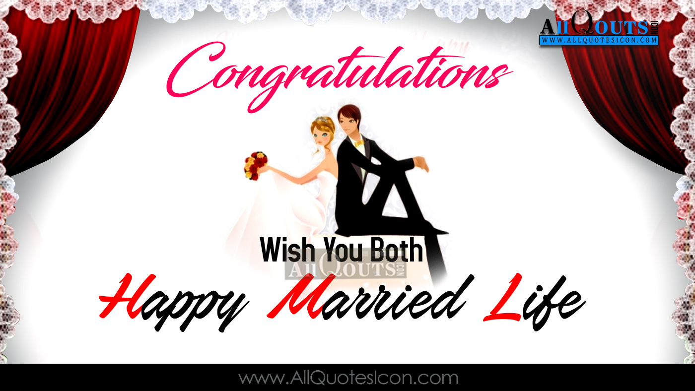 Happy Married Life Wishes Sms In English
