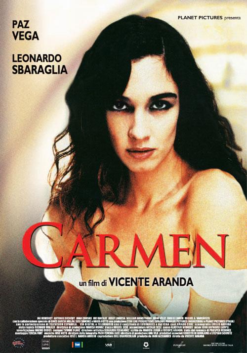 """Resultado de imagen de """"Carmen""""   2003 de Vicente Aranda c"""