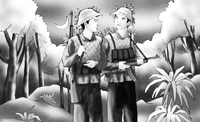 Phân tích hình ảnh người lính trong bài thơ Đồng chí (Chính Hữu)