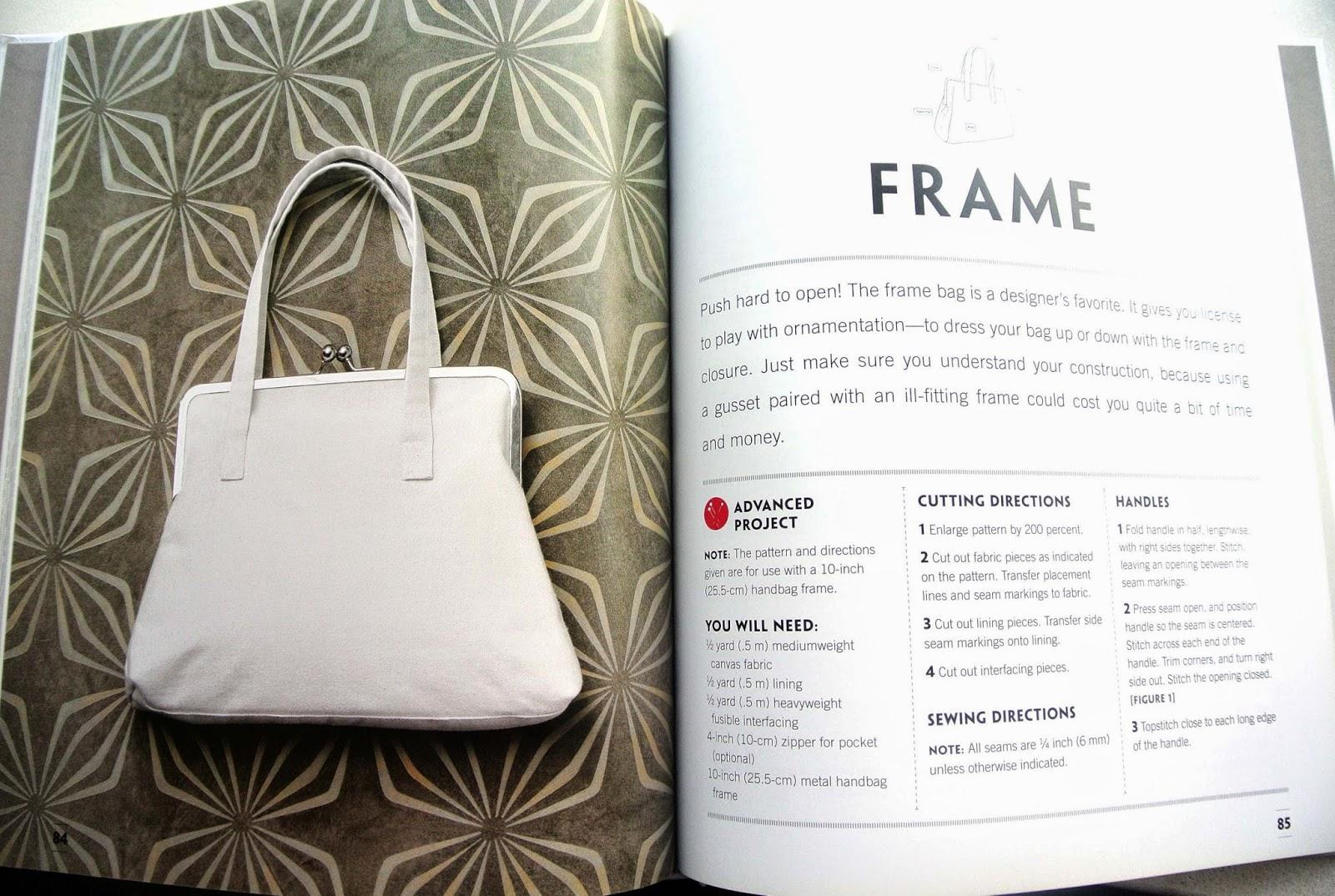 Frame Style Handbag From Designer 101