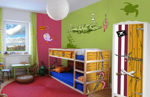 piraten deko f rs kinderzimmer ostseesuche com. Black Bedroom Furniture Sets. Home Design Ideas