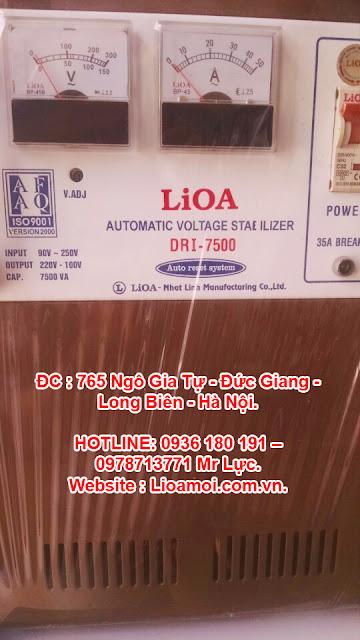 Ổn áp lioa cho gia đình tại Long Biên