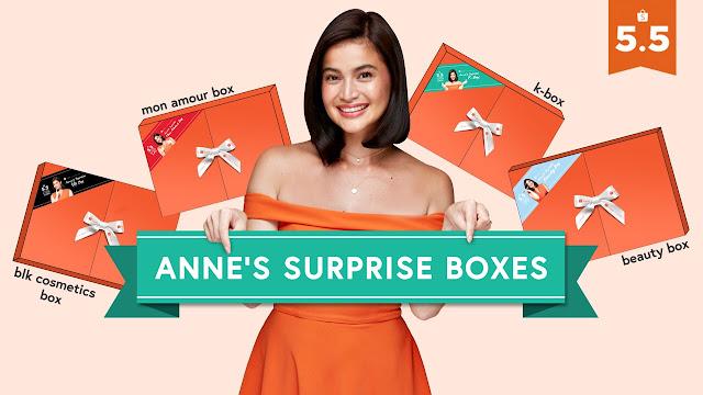 Anne Curtis Celebrates 5.5 Shopee Super Sale With Exclusive Surprise Boxes
