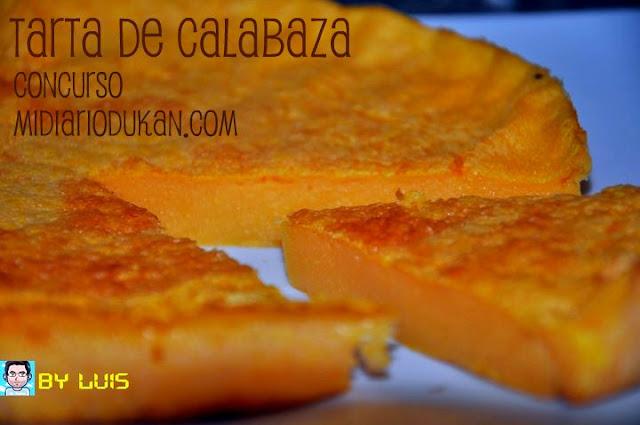Tarta de Calabaza Dukan, by Luis (en MidiarioDukan)