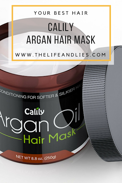 Calily Argan Hair Treatment - Soft and Luxurious
