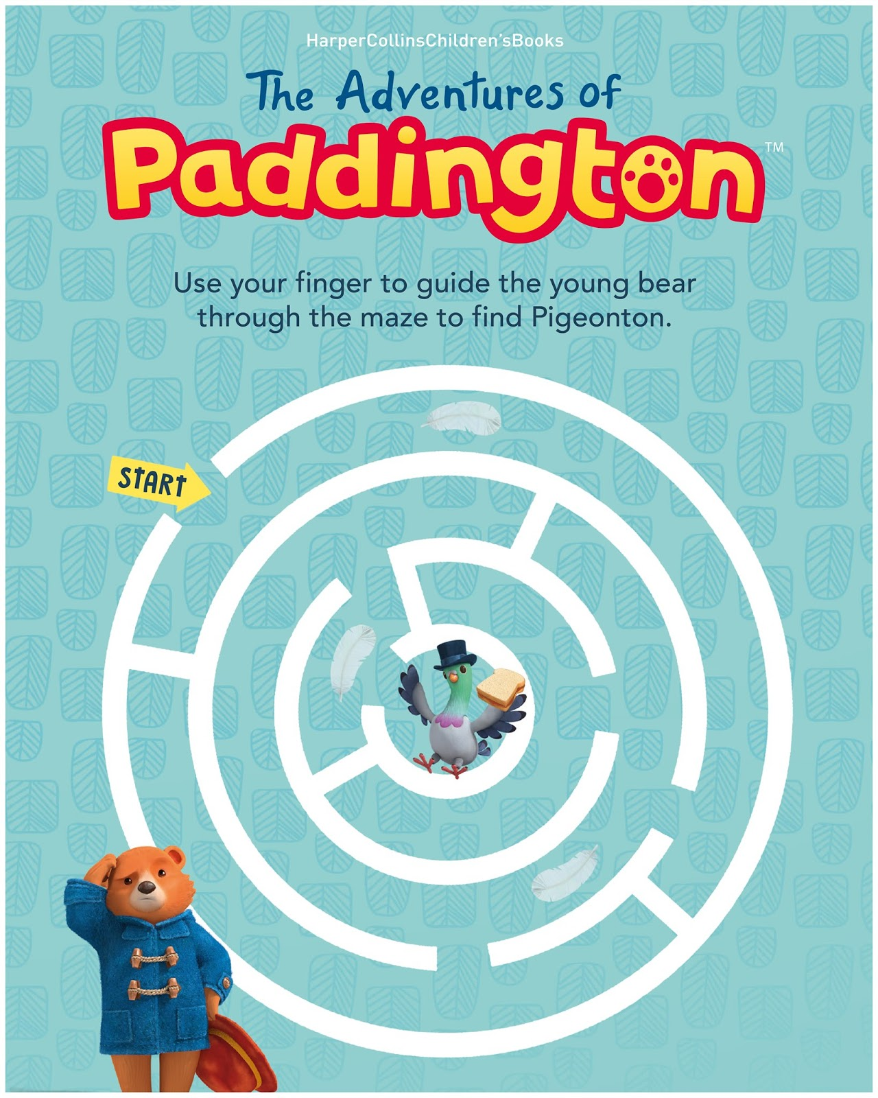 Nickalive The Adventures Of Paddington Activity Pack