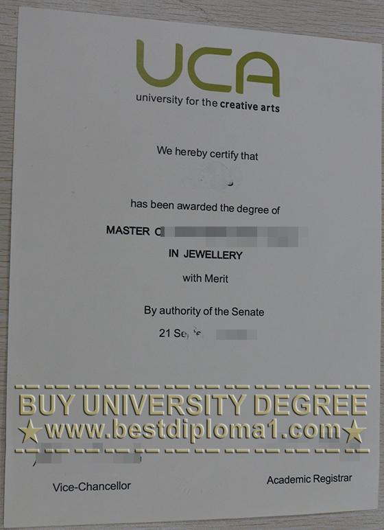 UCA fake diploma