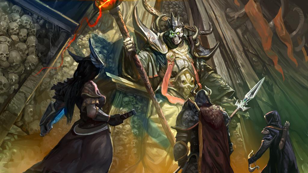 Tenkar's Tavern: Kickstarter - Labyrinth: The Lich Lord's