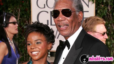 Morgan Freeman dan cucu