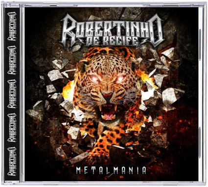 VINIL CD BRASIL : CD Robertinho de Recife 2015 - Back For More