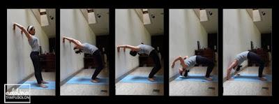 Cara Melakukan Kayang dengan Dinding
