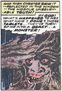 Atlas Comics, Tales of Evil #1, werewolf
