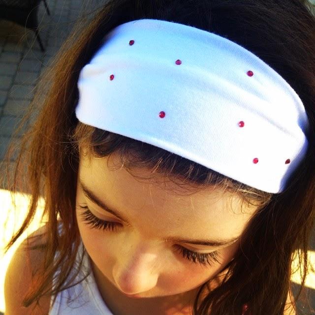 Silhouette, Rhinestones, non-apparel, Silhouette tutorial, headband