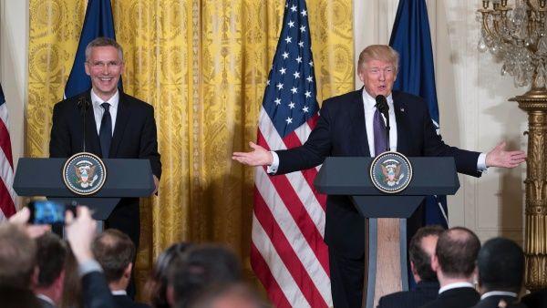 """""""La OTAN ya no es obsoleta"""", asegura el presidente Trump"""