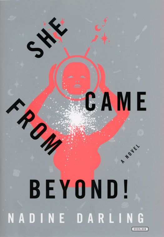 2015 Debut Author Challenge Update - She Came From Beyond! by Nadine Darling