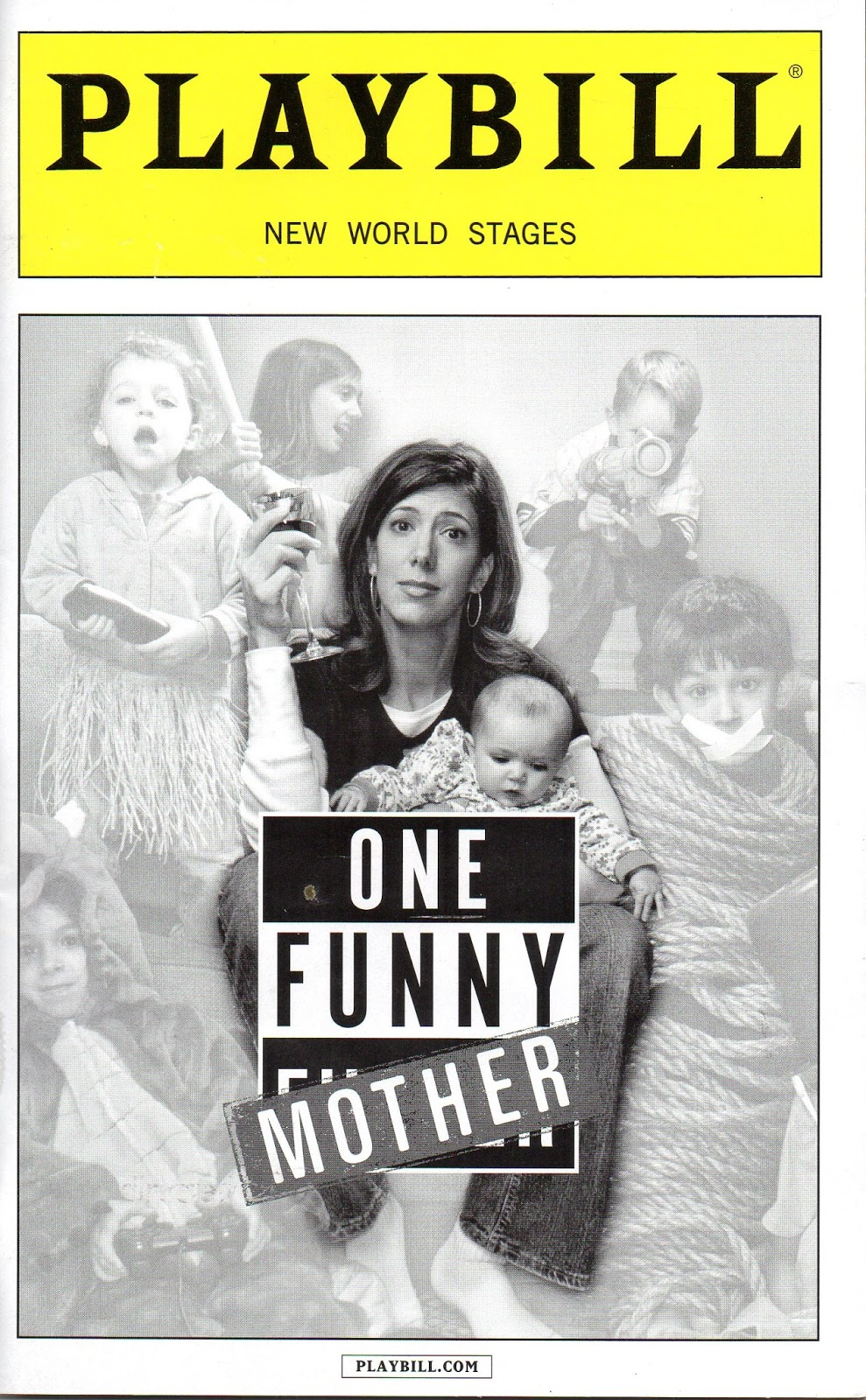 THEATRES LEITER SIDE 183 Review ONE FUNNY MOTHER seen April 9 2016