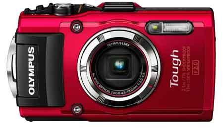 Olympus TG-3 Digitalkamera 16 Megapixel mit CMOS-Sensor, WiFi und GPS