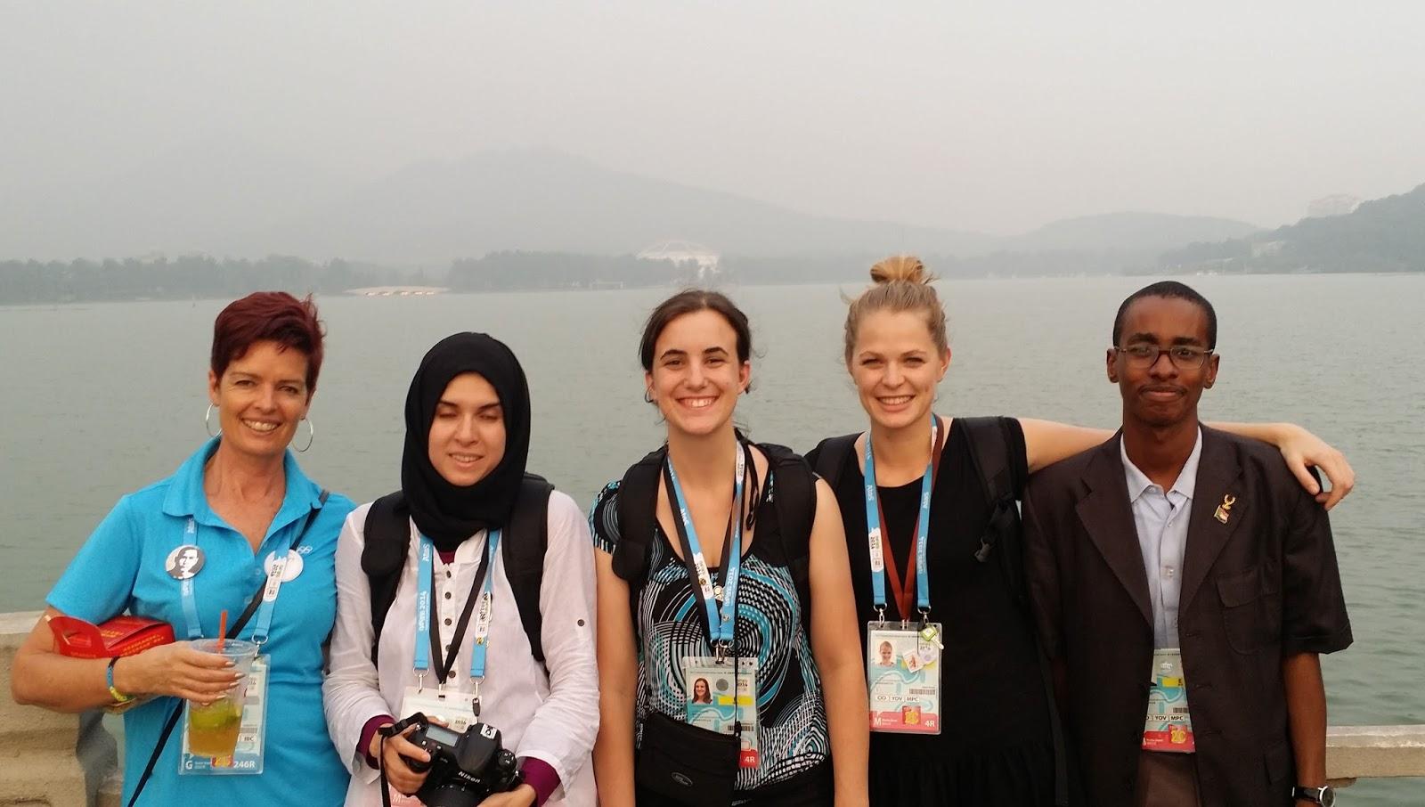 السفير سعيد وسفيرة الولايات المتحدة، نيوزيلندا، الجزائر والإعلامية تريسي هولمز