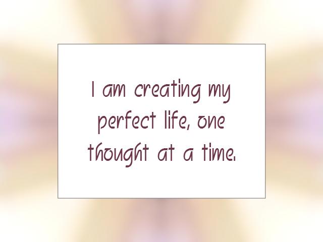 LIFE affirmation