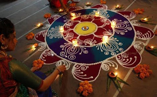 Happy Diwali 2016 Rangoli Designs