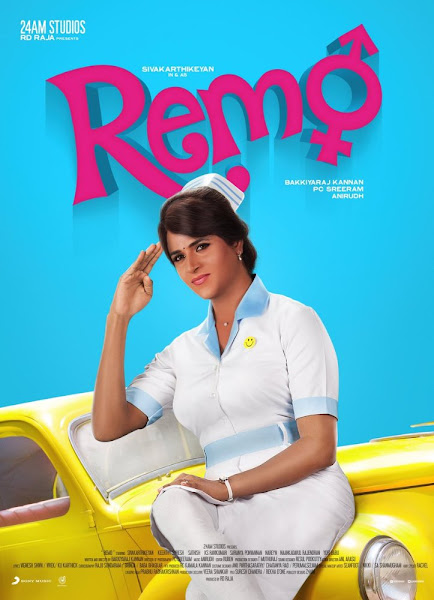 Poster of Remo 2016 Full Movie 720p Tamil HDRip With ESubs Download