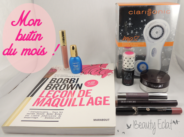 haul beaute clarisonic bobbi brown laura mercier sally hansen