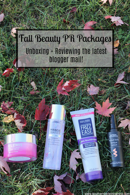 Beauty Blogger - Unboxing Fall PR Packages