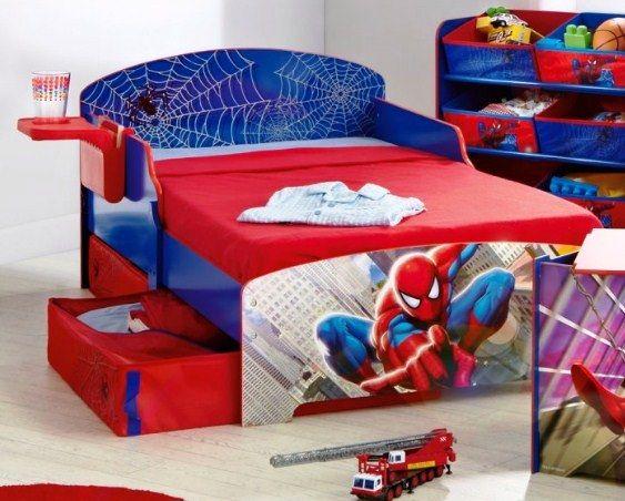 Gambar Kamar Tidur Anak Laki-Laki Tema Spiderman