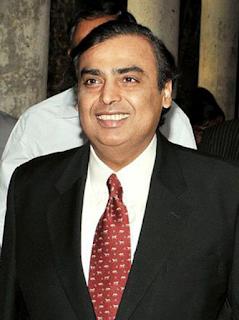 Ông Mukesh Ambani, chủ tịch kiêm tổng giám đốc điều hành Reliance Industries