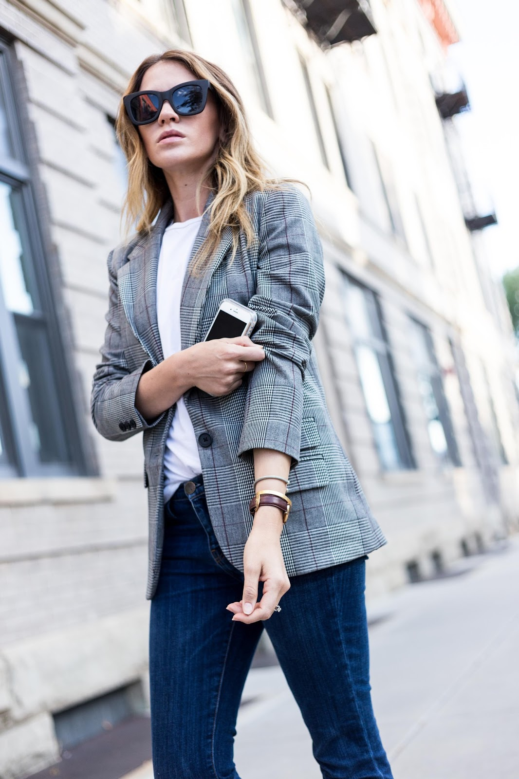 Boyfriend Blazer With Skinny Jeans - Boyfriend Blazer by Colorado fashion blogger Eat Pray Wear Love