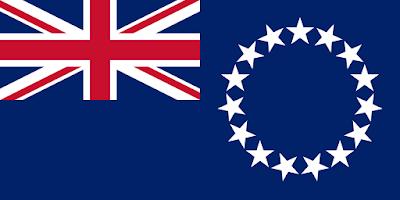 Logo Gambar Bendera Negara Kepulauan Cook PNG JPG ukuran 400 px